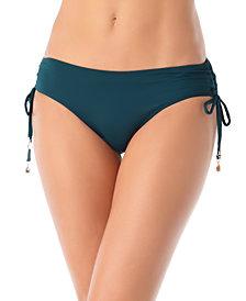 Anne Cole Ruched-Side Bikini Bottoms