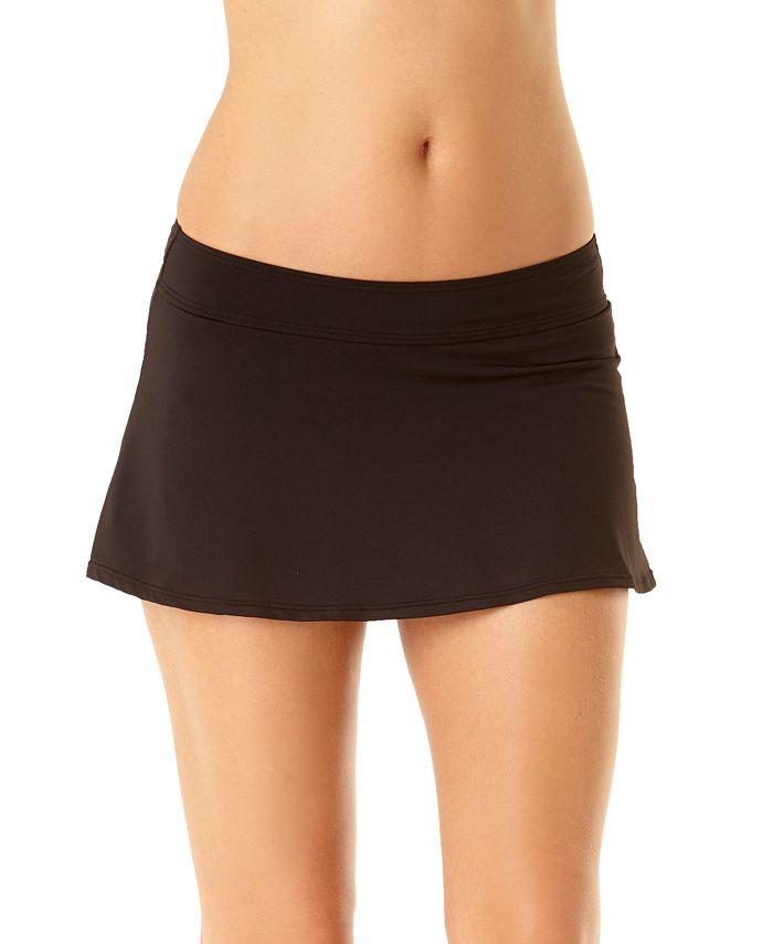 Anne Cole - Solid Swim Skirt
