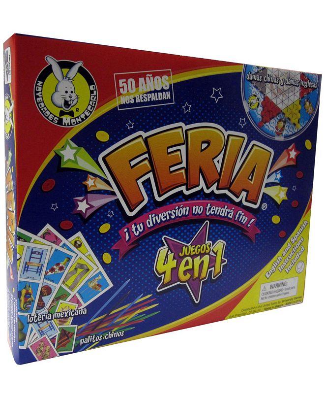 University Games Feria 4 in 1