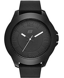 Skechers Men's Rosencrans Oversize Silicone Strap Watch 50mm