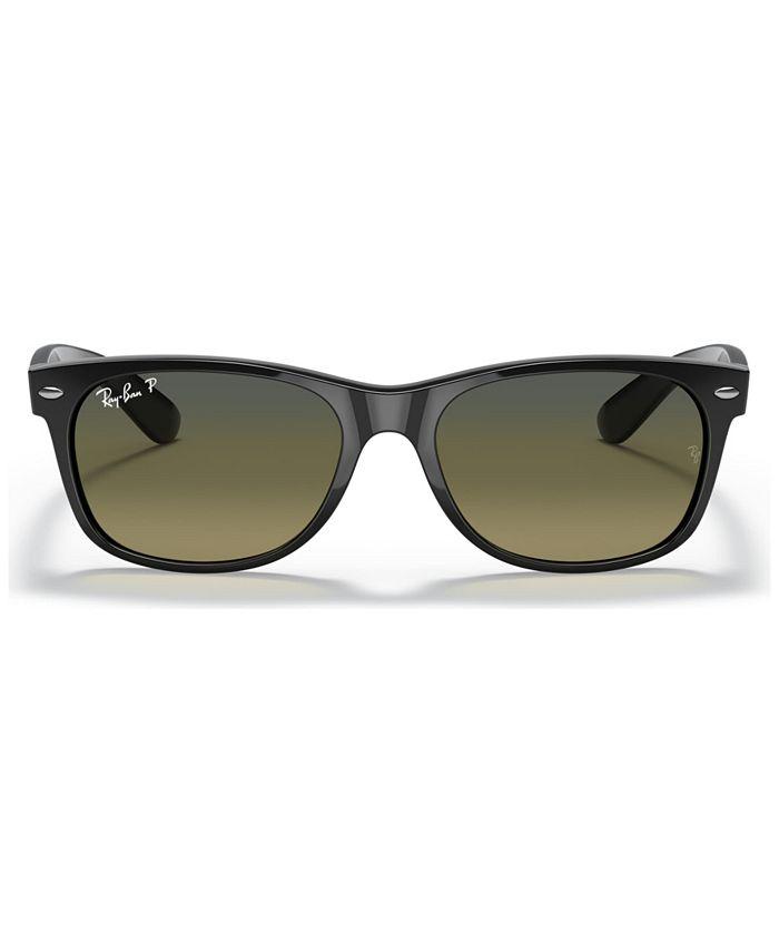 Ray-Ban - Polarized Sunglasses, RB2132 55 NEW WAYFARER