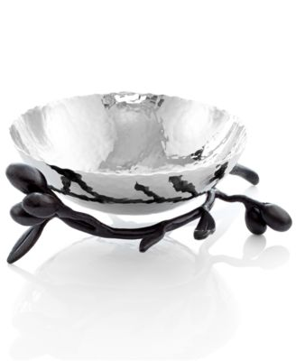 Michael Aram Olive Branch Nut Bowl