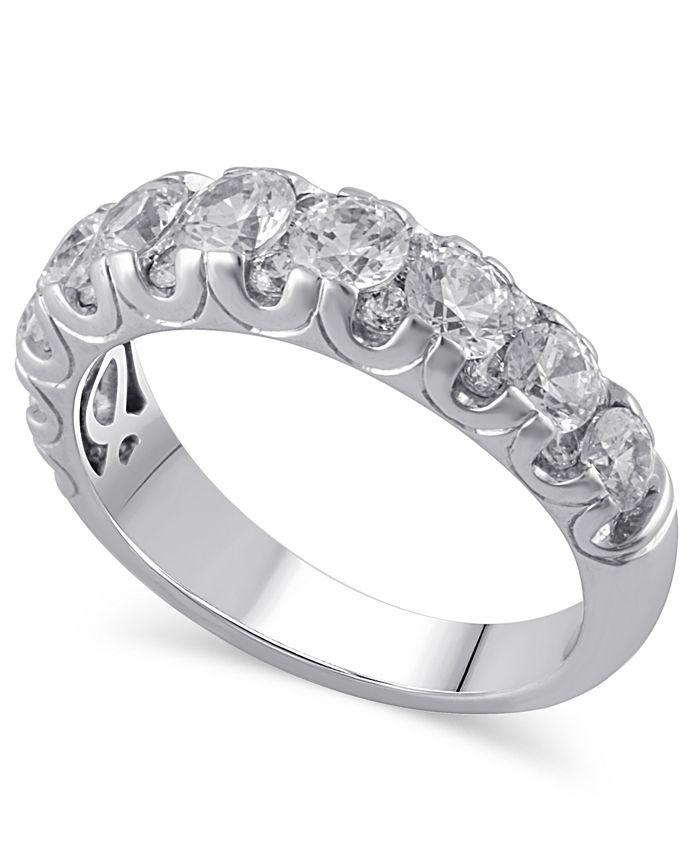 Macy's - Certified Diamond (2 ct. t.w.) Ring in 14k White Gold