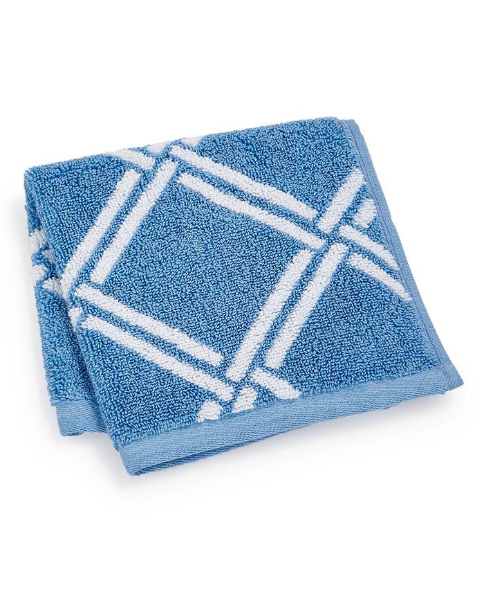 "Charter Club - Elite Cotton Lattice 13"" x 13"" Wash Towel"
