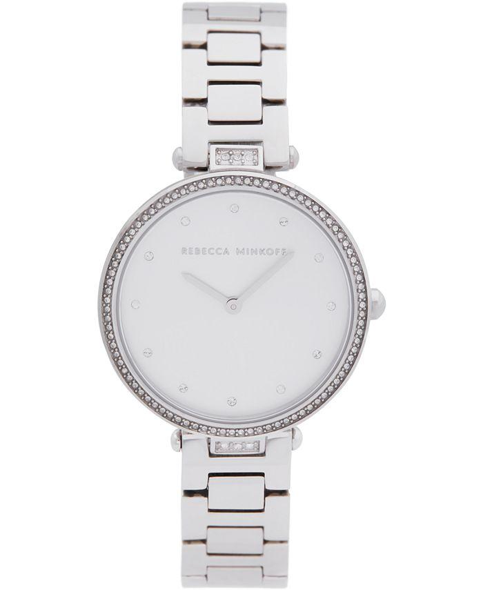 Rebecca Minkoff - Women's Nina Stainless Steel Bracelet Watch 33mm