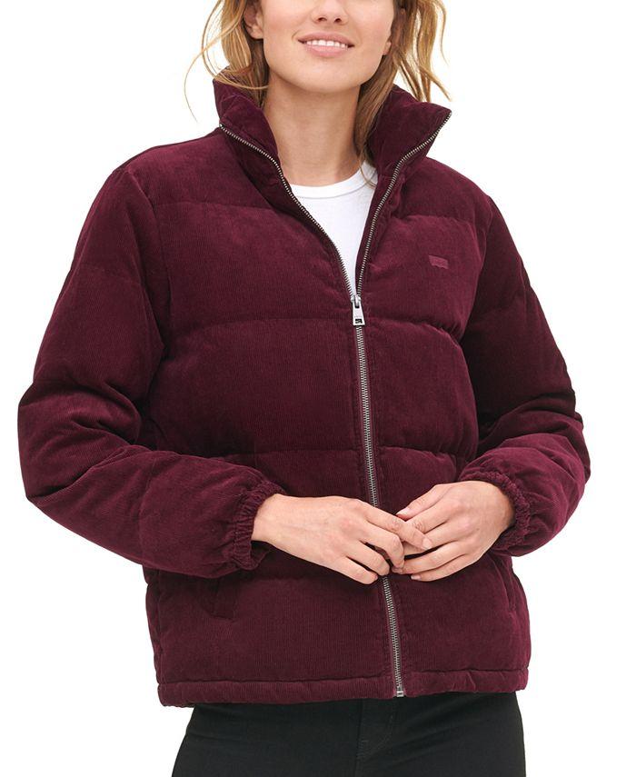 Levi's - Zip-Up Cotton Corduroy Puffy Jacket