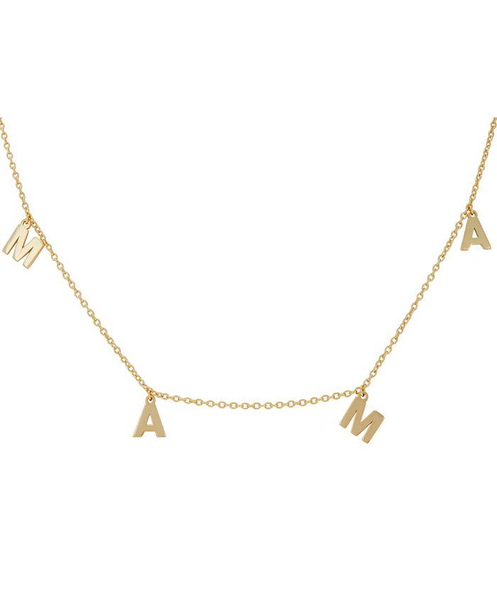 ADORNIA - Mama Dangle Necklace
