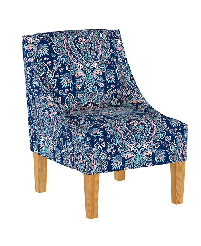 Martha Stewart Collection - Lily Pond Collection Accent Chair, Quick Ship