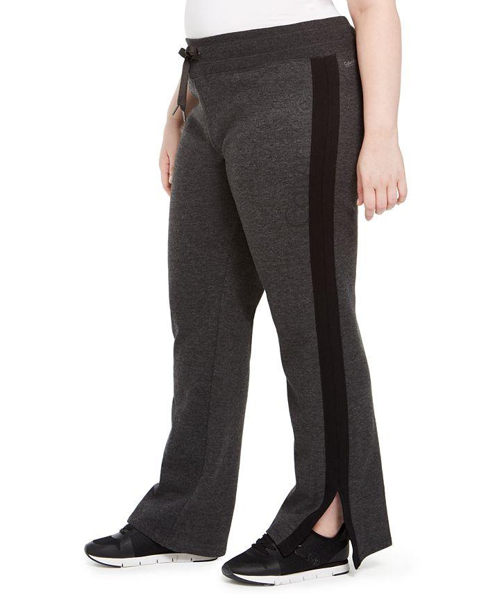 Calvin Klein - Plus Size Logo Print Sweatpants