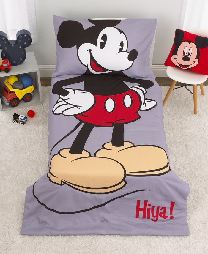 Disney - Mickey Mouse 4-Piece Toddler Bedding Set