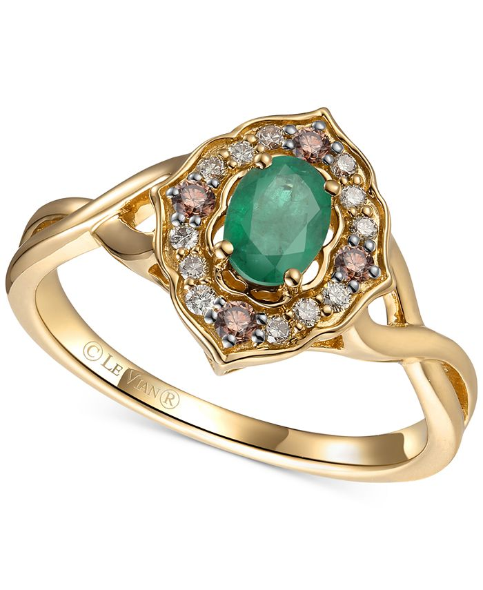 Le Vian - Multi-Gemstone (1/2 ct. t.w.) Statement Ring in 14k Gold