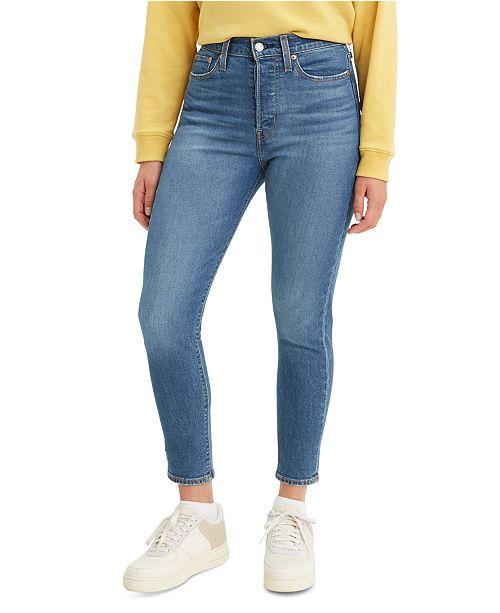 Levi S Women S Skinny Wedgie Jeans Reviews Women Macy S