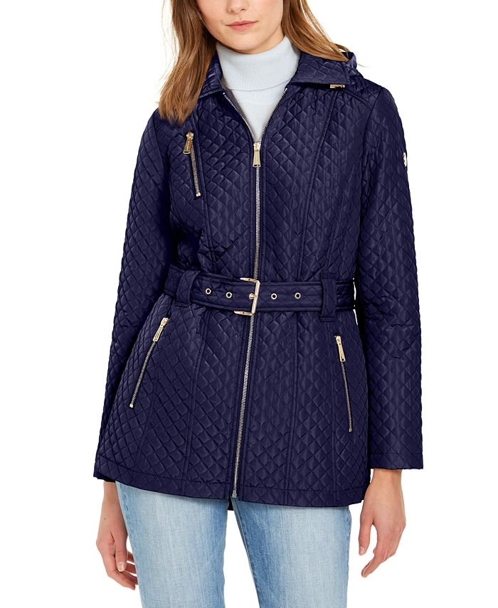 Michael Kors - Quilted Belted Jacket