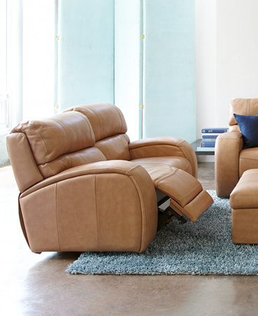 Damon Leather Sofa Living Room Furniture Collection Power Reclining Furnit