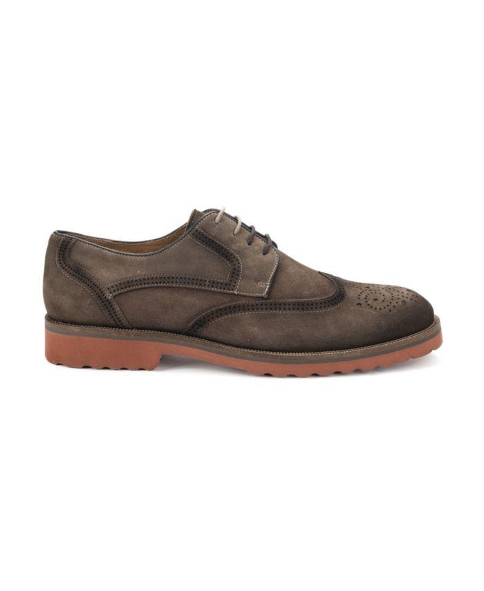 Belvedere Men's Cardif II Wingtip Lace Up Shoe & Reviews - All Men's Shoes - Men - Macy's