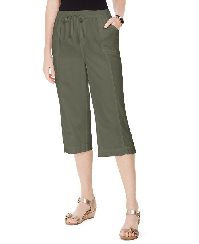 Karen Scott - Capri Pull-On Pants
