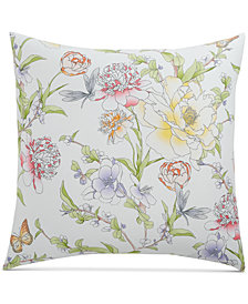 Charter Club Damask Designs Blossom Cotton 300-Thread Count European Sham, Created for Macy's