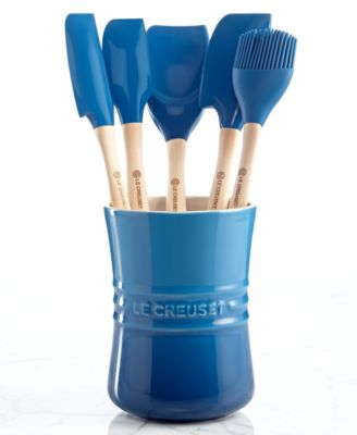 Le Creuset Revolution 6 Piece Kitchen Utensil Crock Set