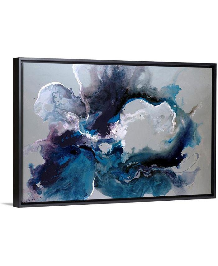 "GreatBigCanvas - 30 in. x 20 in. ""Cerulean waters"" by  Sydney Edmunds Canvas Wall Art"