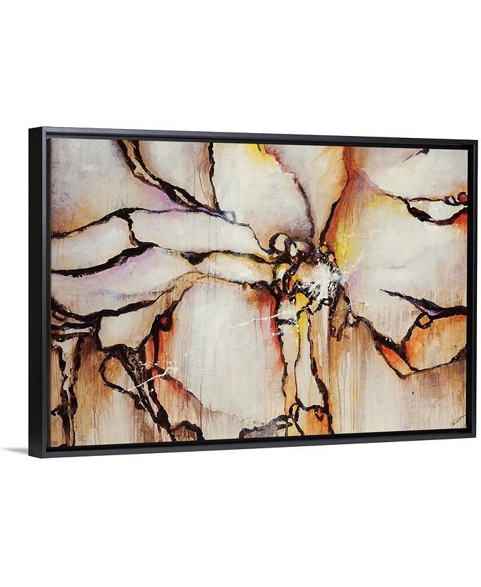 "GreatBigCanvas - 24 in. x 16 in. ""Equate"" by  Rikki Drotar Canvas Wall Art"