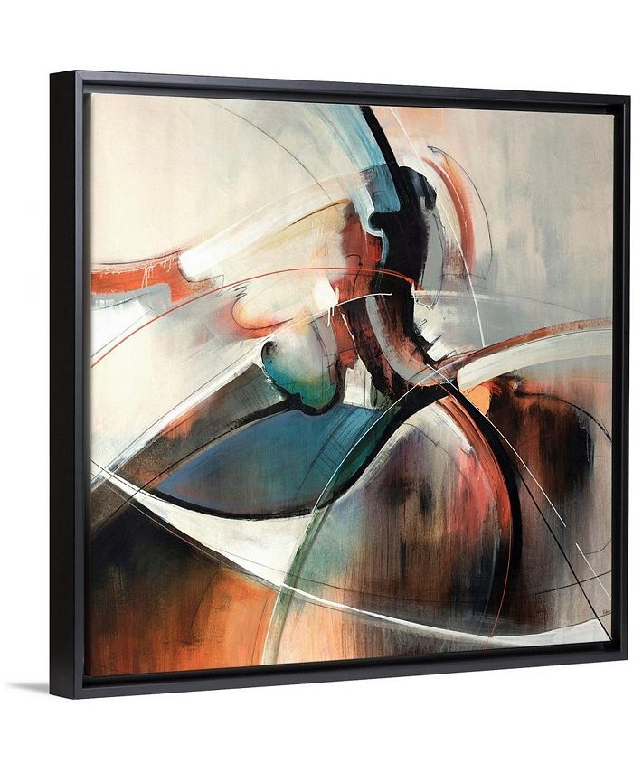 """GreatBigCanvas - 24 in. x 24 in. """"Mixture"""" by  Sydney Edmunds Canvas Wall Art"""