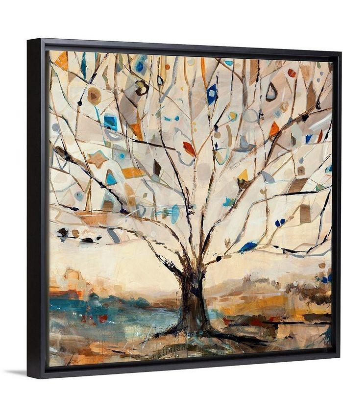 """GreatBigCanvas - 16 in. x 16 in. """"Merkaba Tree"""" by  Jodi Maas Canvas Wall Art"""