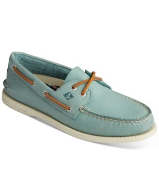 Eye Green Boat Shoes