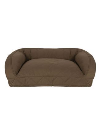 Quilted Microfiber Bolster Bed