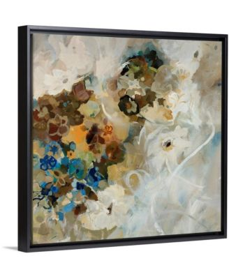 """36 in. x 36 in. """"French Flowers"""" by  Jodi Maas Canvas Wall Art"""