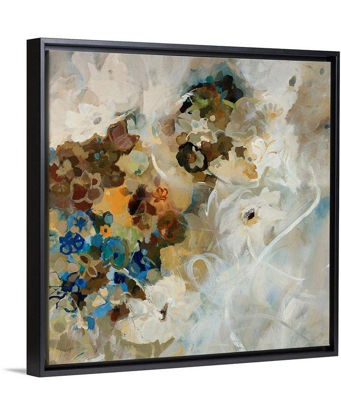 "GreatBigCanvas - 36 in. x 36 in. ""French Flowers"" by  Jodi Maas Canvas Wall Art"