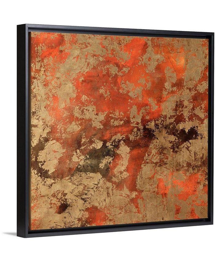 "GreatBigCanvas - 36 in. x 36 in. ""Bhutan Silk I"" by  Jodi Maas Canvas Wall Art"