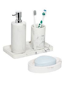 Honey Can Do 4-Pc. Bathroom Accessories Set
