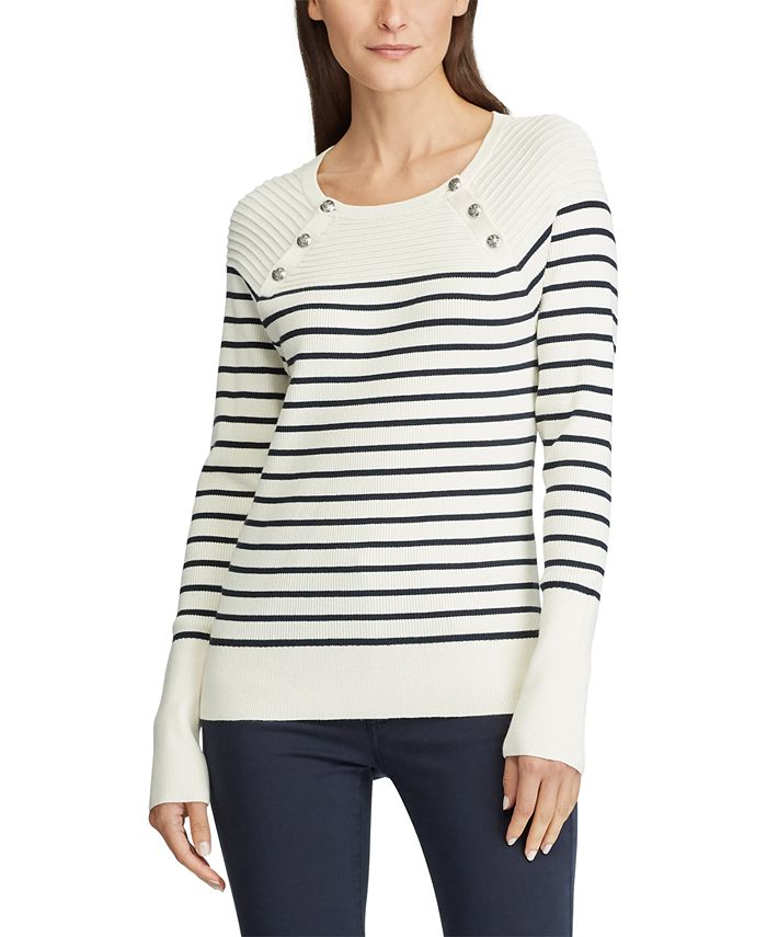 Lauren Ralph Lauren - Stretch-Cotton Sweater