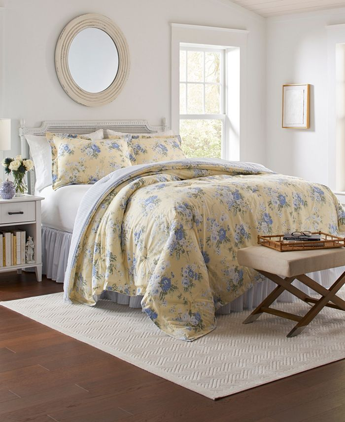 Laura Ashley - Maybelle Twin Comforter Set