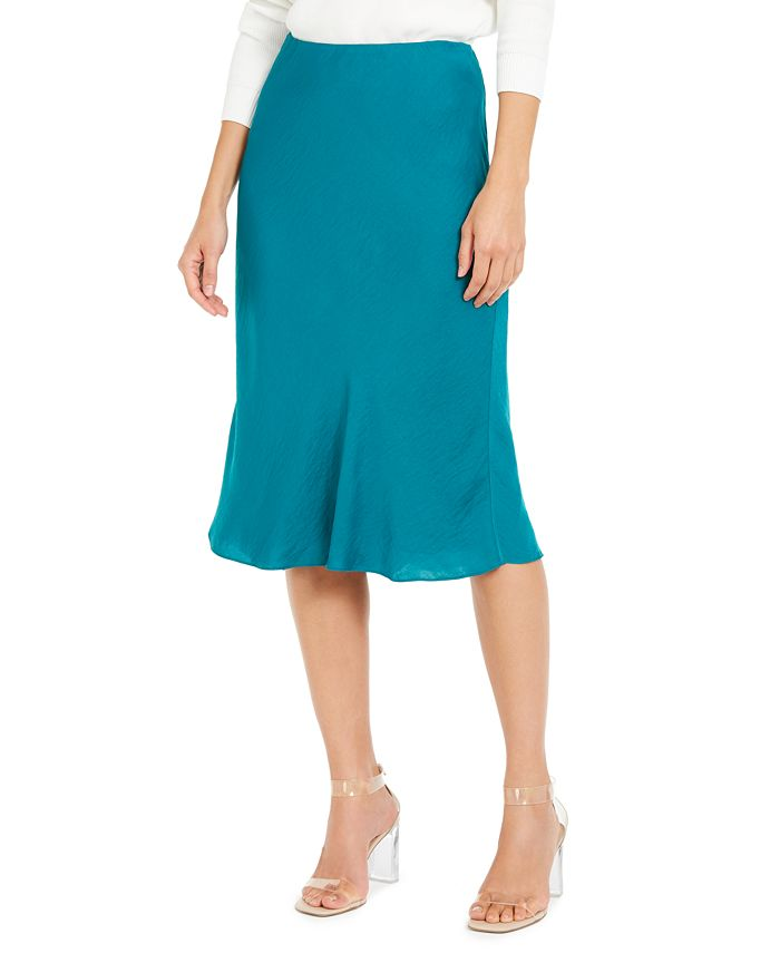 INC International Concepts - Bias-Cut Midi Skirt