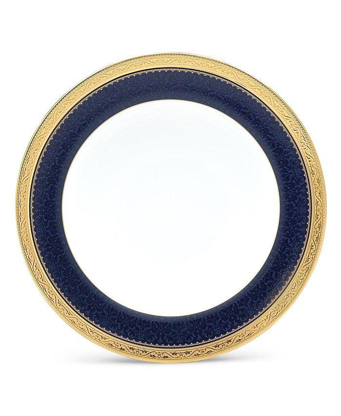"Noritake - Odessa Cobalt Gold Salad Plate, 8.5"""