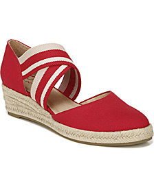 LifeStride Keaton Slip-on Wedge Espadrilles