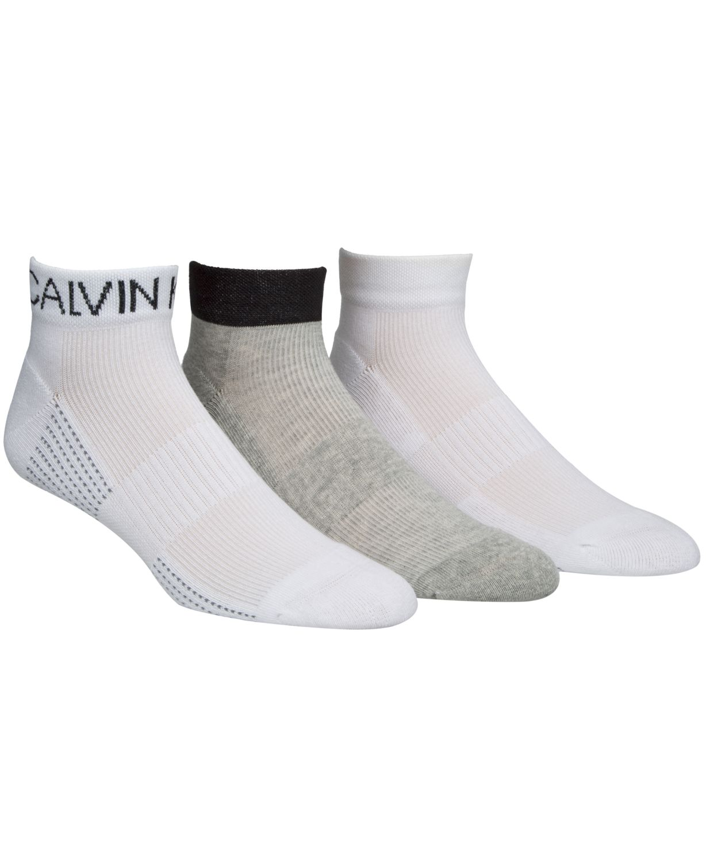 Calvin Klein Men's 3-Pk. Athletic Socks & Reviews - Underwear & Socks - Men - Macy's