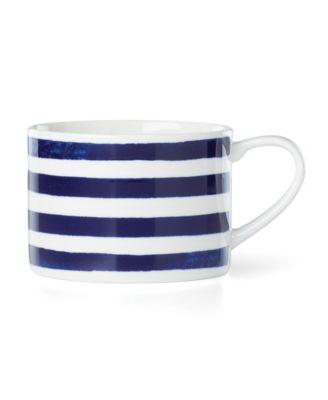 Charlotte Street Navy Weekend Mug