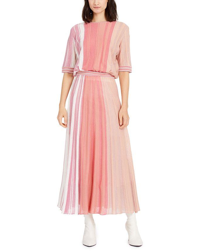 Marella - Striped Sweater Dress
