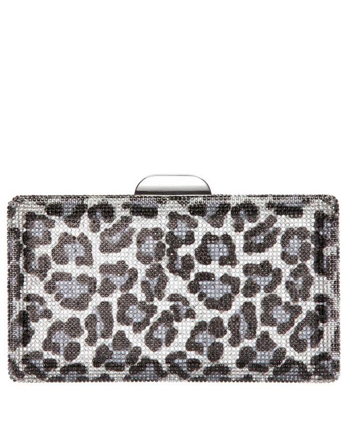 Nina - Crystal Leopard Pattern Minaudiere
