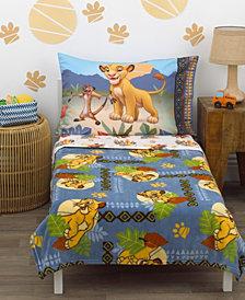 Disney Lion King Totally Tribal 4-Piece Toddler Bedding Set