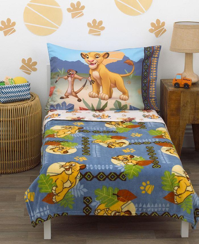 Disney - Lion King Totally Tribal 4-Piece Toddler Bedding Set
