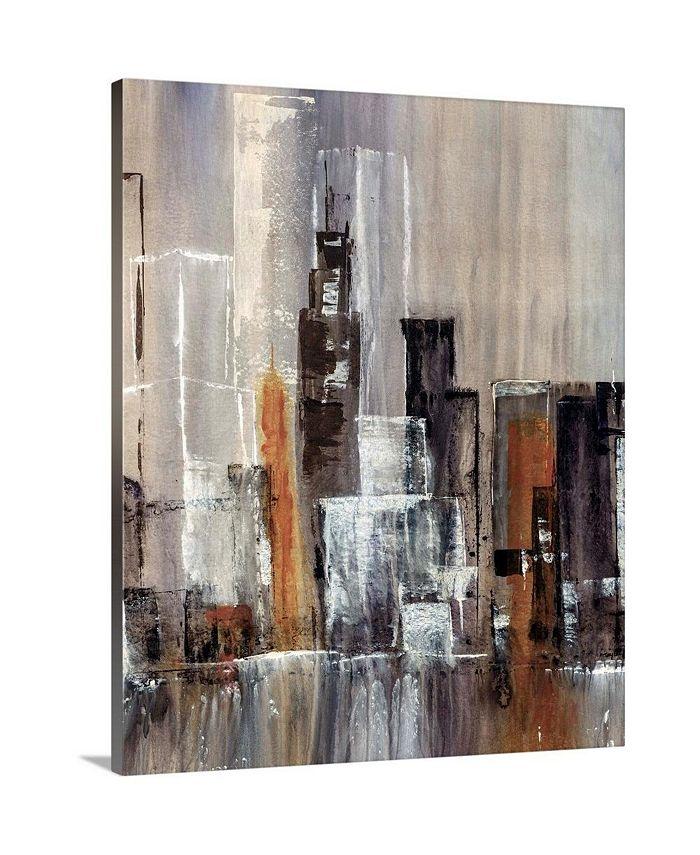 "GreatBigCanvas - 24 in. x 30 in. ""Coastal City II"" by  Kari Taylor Canvas Wall Art"