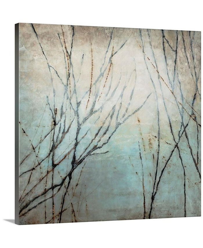 """GreatBigCanvas - 36 in. x 36 in. """"Winter Song"""" by  Kari Taylor Canvas Wall Art"""