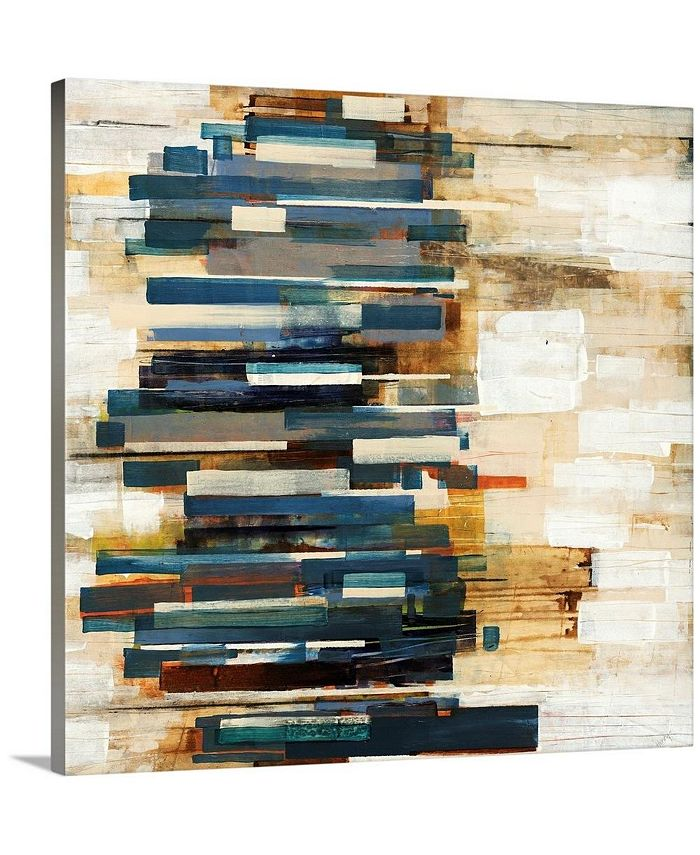 "GreatBigCanvas - 16 in. x 16 in. ""Scattered"" by  Alexys Henry Canvas Wall Art"