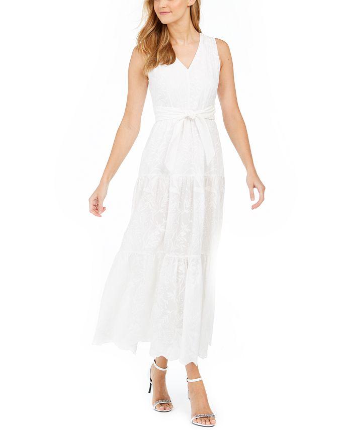 Calvin Klein - Embroidered Maxi Dress