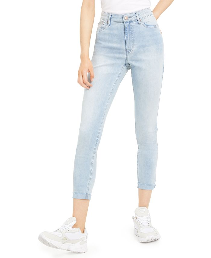 Calvin Klein Jeans - Cropped Skinny Jeans