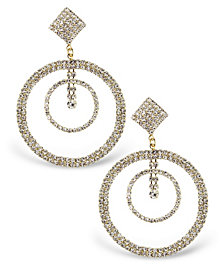 Statement Accessories Stone Statement Earrings
