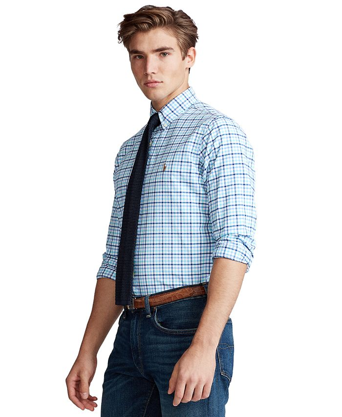 Polo Ralph Lauren - Men's Classic-Fit Gingham Shirt